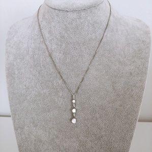Jewelry - 3-Diamond Necklace